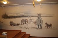 Seinämaalaus, Tunturihotelli Ylläsjärvi.JPG