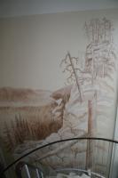 seinämaalaus ilveslinna, ranua.JPG